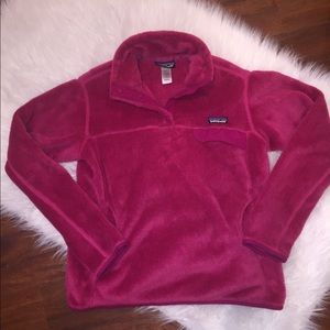 Pink Patagonia jacket!
